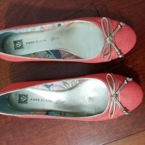 Anne Klein Peach Ballet Shoes 80420-3S1